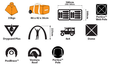 Sportiva Voyager 12 Person Deluxe Tent ...  sc 1 st  Hunting and Outdoor Supplies & Sportiva Voyager Tent - Hunting and Outdoor Supplies