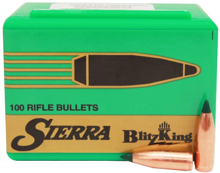 Sierra BlitzKing Rifle Bullets - Hunting and Outdoor Supplies