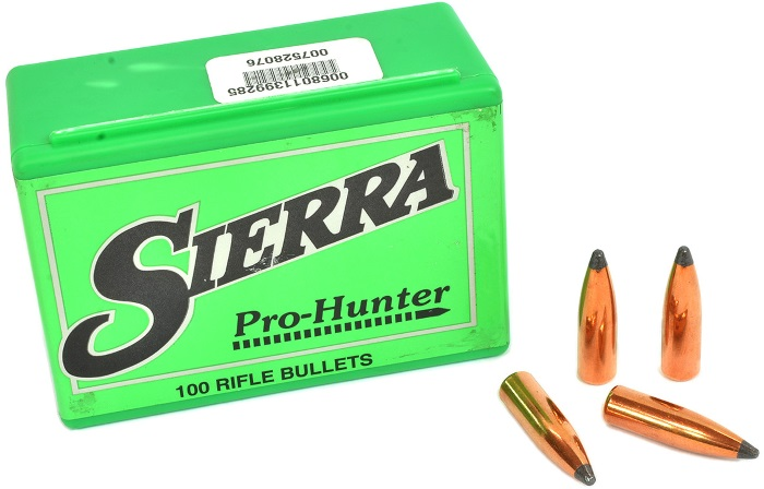 Sierra Pro-Hunter Rifle Bullets - Hunting and Outdoor Supplies