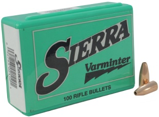 Sierra Rifle Projectiles 20 Cal to 6mm - Hunting and Outdoor